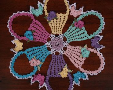 Easter Basket Doily | Cylinda Mathews