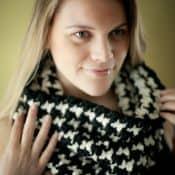 Sydney Houndstooth Cowl | Jocelyn Sass