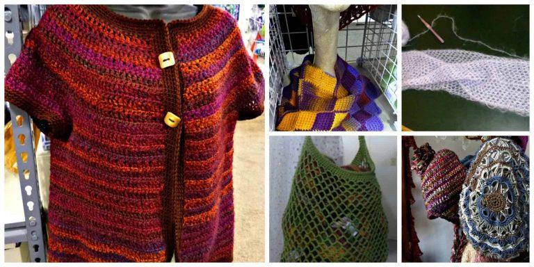 Knitkabob   Crochet Samples