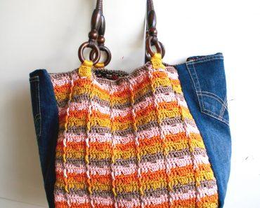 Upcycled Denim Shopper | Luz Mendoza
