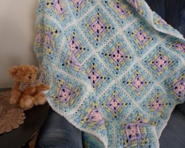 Baby Basket Weave Blanket | Mainly Crochet | Michele Maks