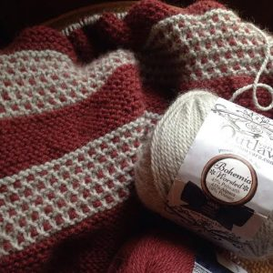 Outlaw Yarn | Vouvray Shawl
