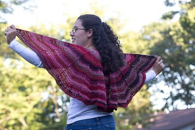 Autumn Sunset Shawl | Susie Allen