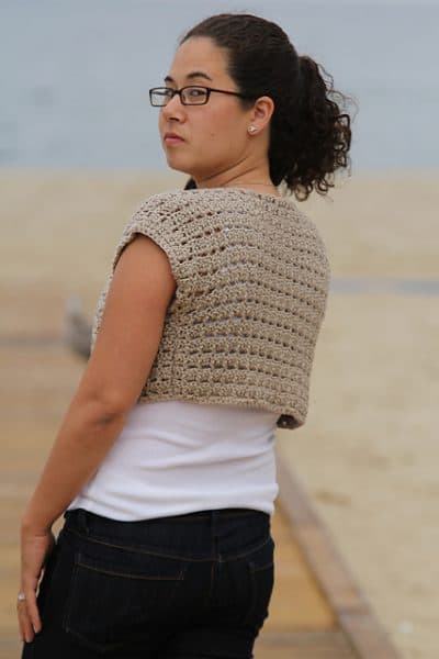 Sea Shore Shrug | Susie Allen