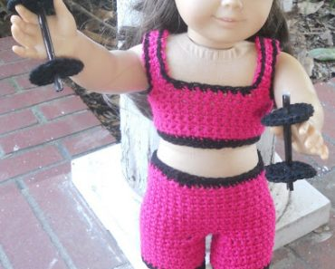 "Wendy's Workout Set | 18"" Doll 