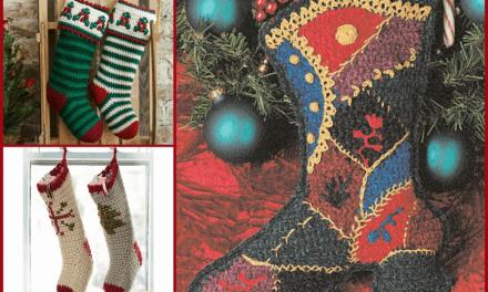 Free Crochet Christmas Stocking Patterns