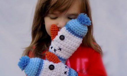 Holiday Gift Ideas: Cute Children's Mitten Crochet Patterns