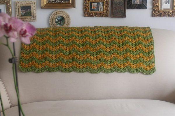 Marie Segares | Underground Crafter | Triplet Ripple Baby Blanket