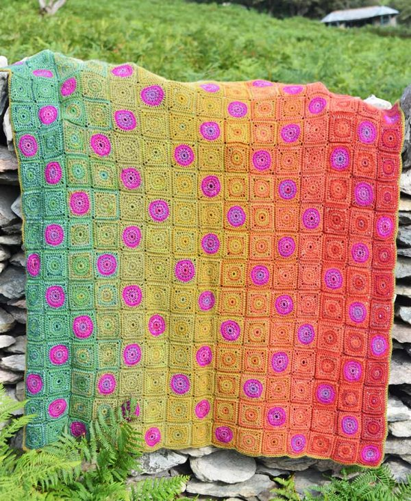 Amanda Perkins | Amanda's Crocheted Blankets | Foxgloves