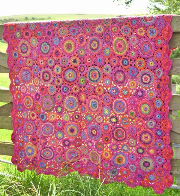 Amanda Perkins | Amanda's Crocheted Blankets | Kissing Circles