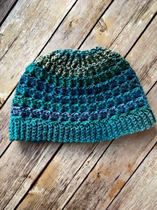 Amanda Saladin | Messy Bun Hat