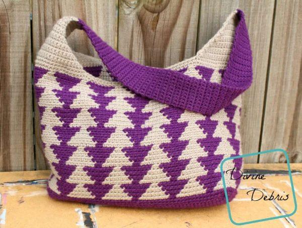 Amber Millard | Divine Debris | Trixie Triangles Bag