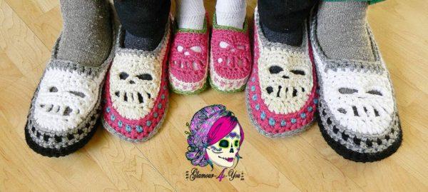 Ann Mancini-Williams | Glamour4You | Glamour Skull Slipper Shoes