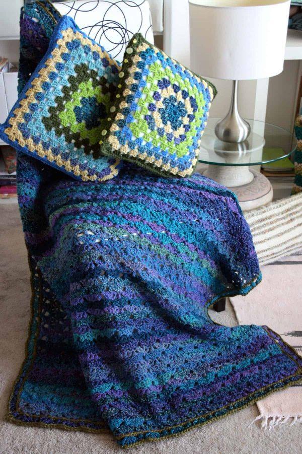 Denise Voie de Vie | Chunky Comfort Blanket