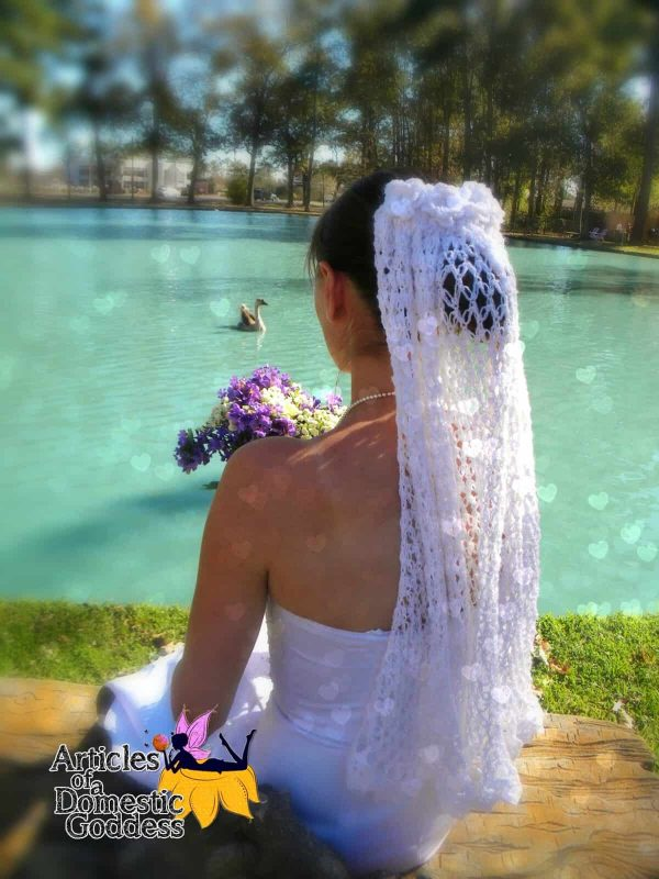 Donna Knox | Articles of a Domestic Goddess | Love is in the Air Wedding Veil