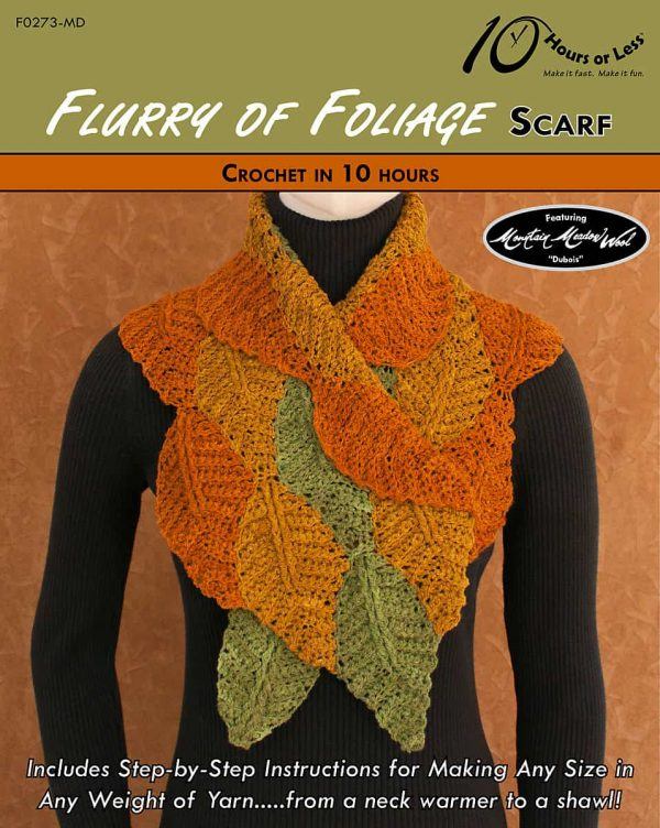 George Shaheen | 10 Hours or Less | Flurry of Foliage Scarf