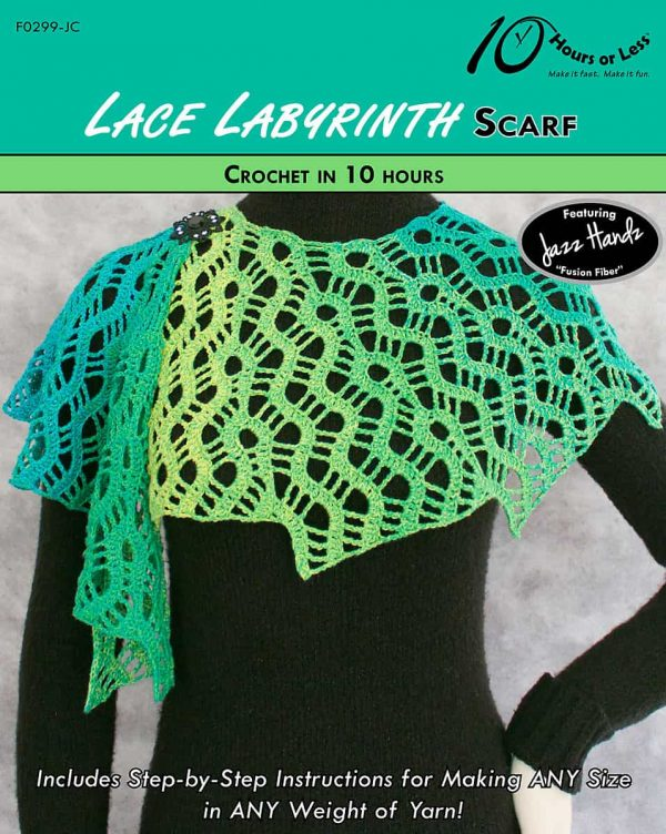 George Shaheen | 10 Hours or Less | Lace Labyrinth Scarf