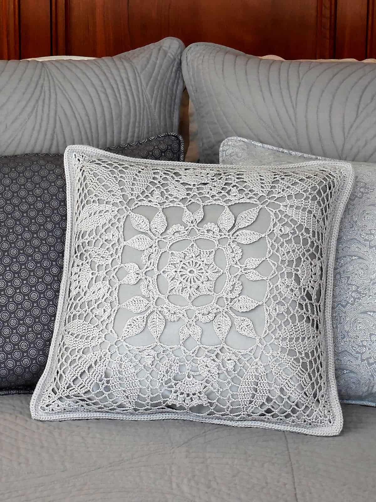 Kathryn Clark | Lacy Leaf Pillow