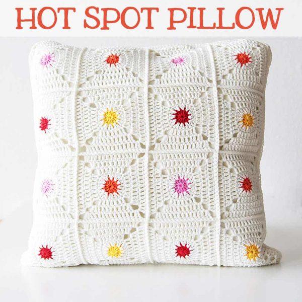 Kirsten Ballering | Haakmaarraak | Hot Spot Pillow