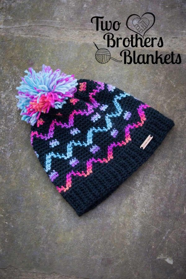 Michelle Ferguson | Two Brothers Blankets | Camden Hat