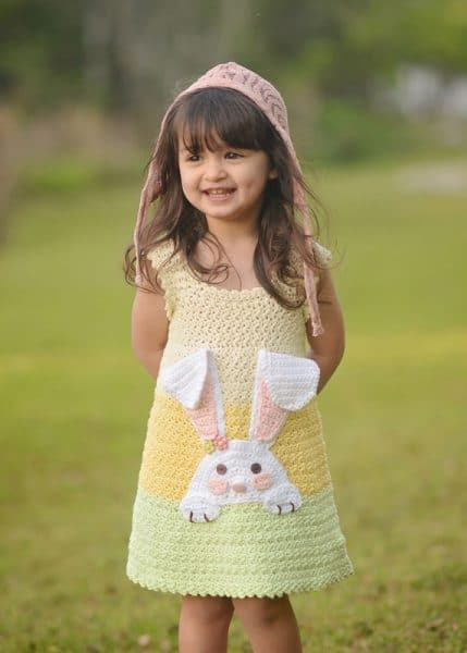 Bunny Dress by Lisa Naskrent