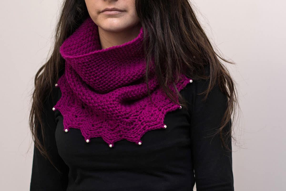 #58 Crochet Cowl - Melissa Thibault