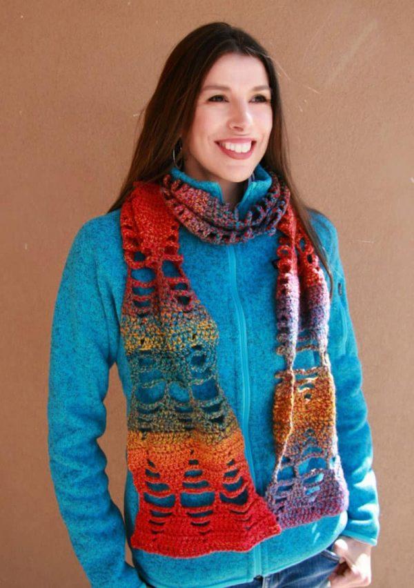 Ayo Scarf - Crochet - Angelina Robinson