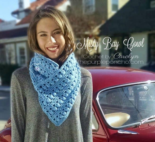 Misty Bay Cowl - Carolyn Calderon