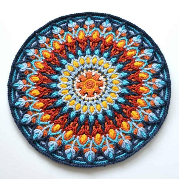 Spanish Mandala Pillow