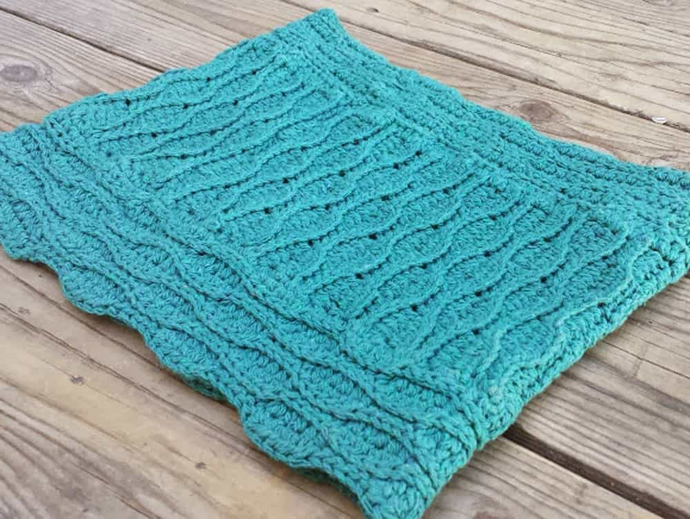 Textured Cowl - Crochet - Angelia Robinson