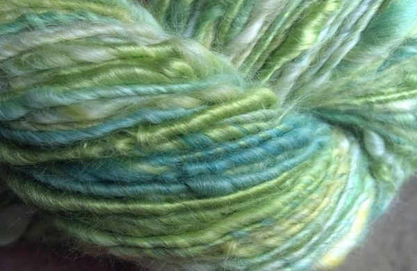 Sparkle Studio | Handspun Suri yarn by Roo