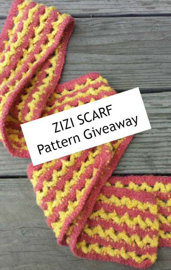 Zizi Scarf - Crochet - Angelia Robinson