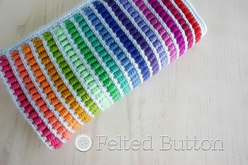 Abacus Blanket by Susan Carlson