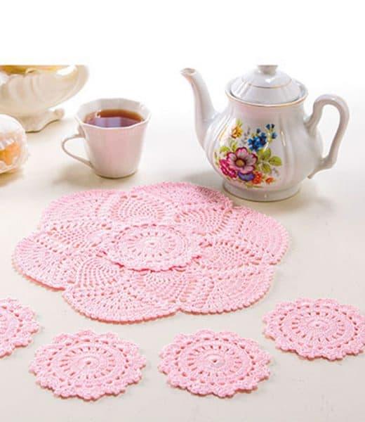 Afternoon Tea Set - Crochet - Brenda Stratton