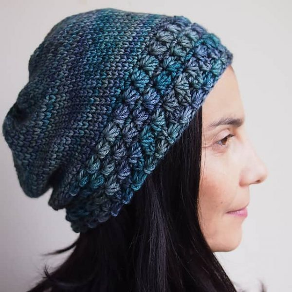 Ana Dyakova | By Accessorise | Star Stitch Slouchy Hat