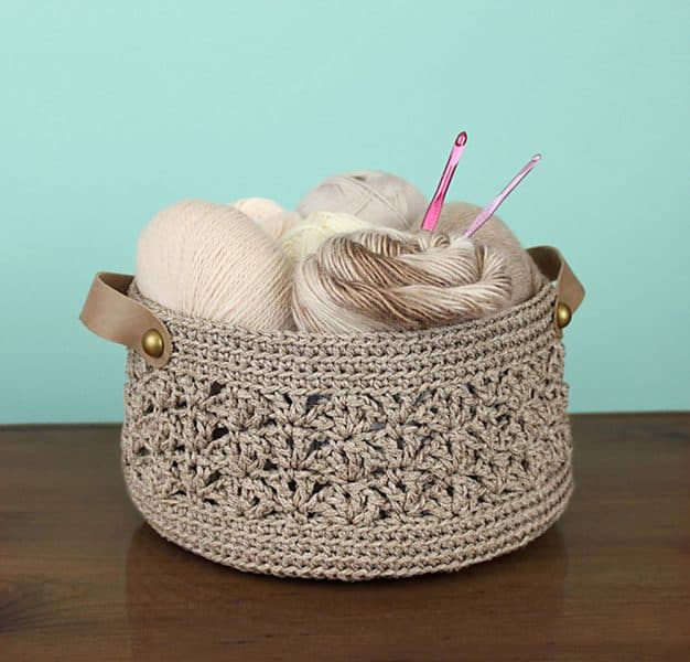 Beachcomber Basket - Crochet - Julie King