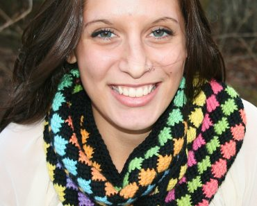 Beth Major | Crochet Gypsy | Stained Glass Cowl