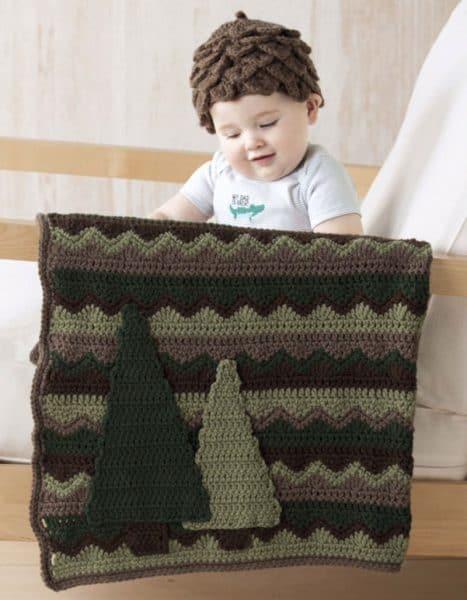 Coniferous Set - Crochet - Sara Leighton