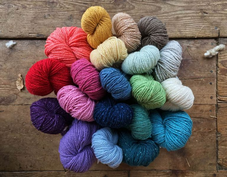 Colorways - Cotton Comfort Yarn - Green Mountaitn Spinnery