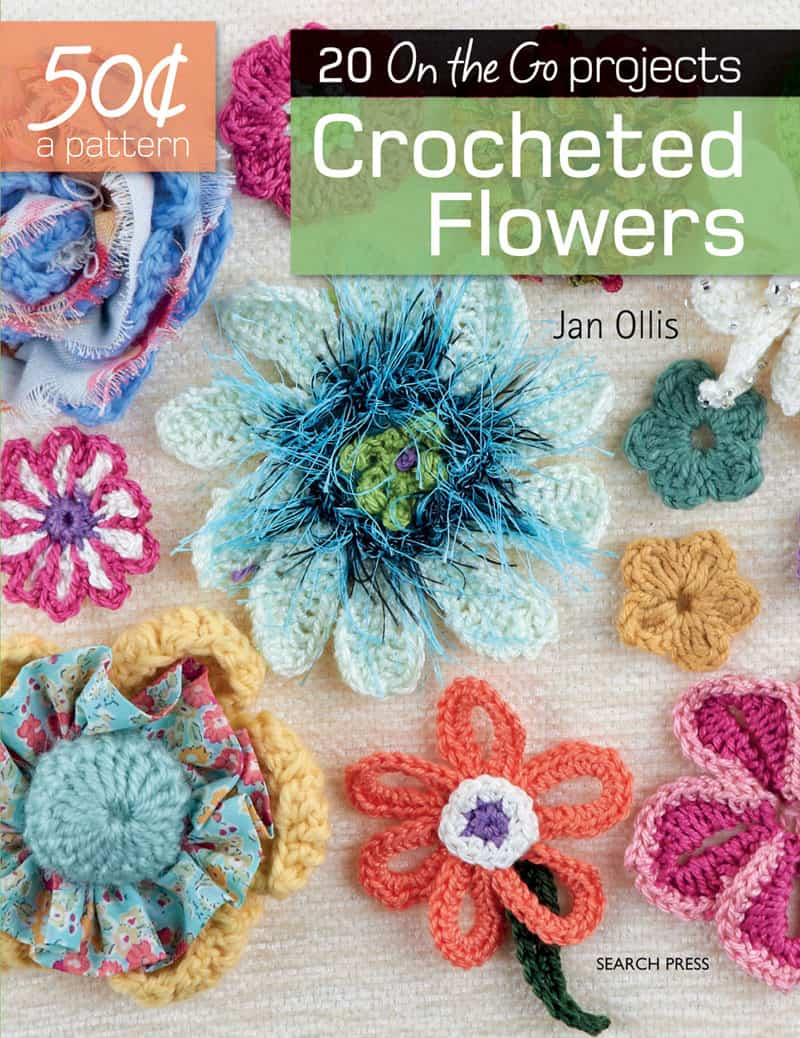 Crocheted Flowers - 50 Cents a Pattern - Jan Ollis