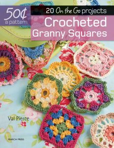 Crocheted Granny Squares - 50 Cents a Pattern - Val Pierce