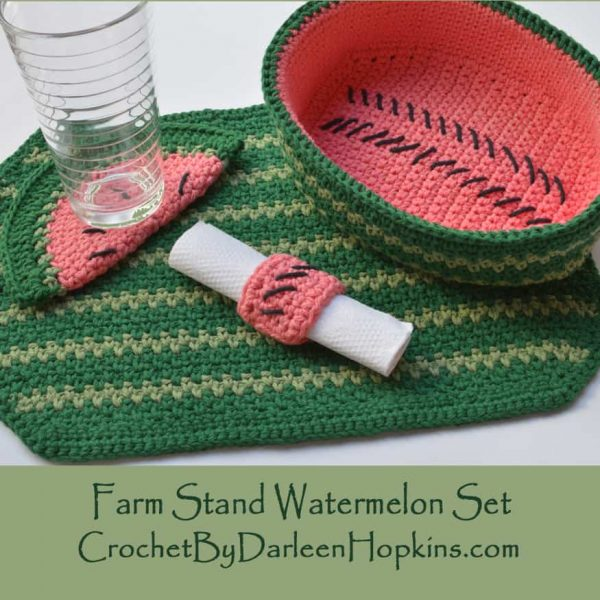 Darleen Hopkins | Farm Stand Watermelon Set