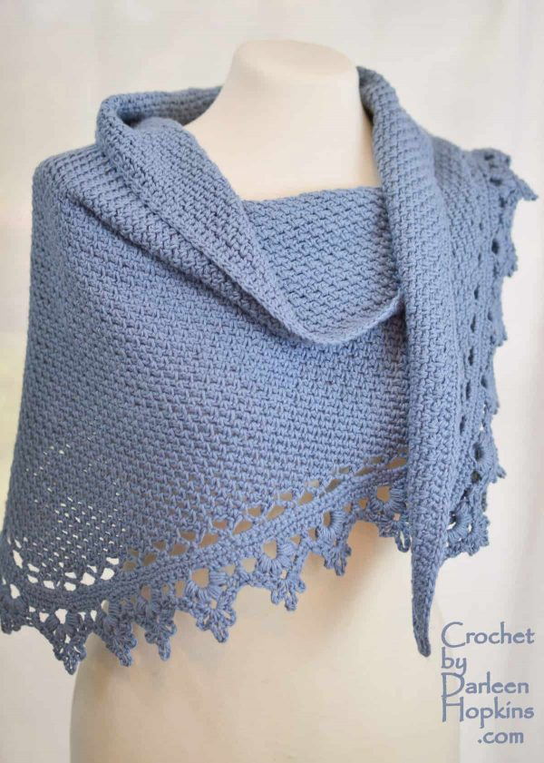 Darleen Hopkins | Black Raspberry Shawl