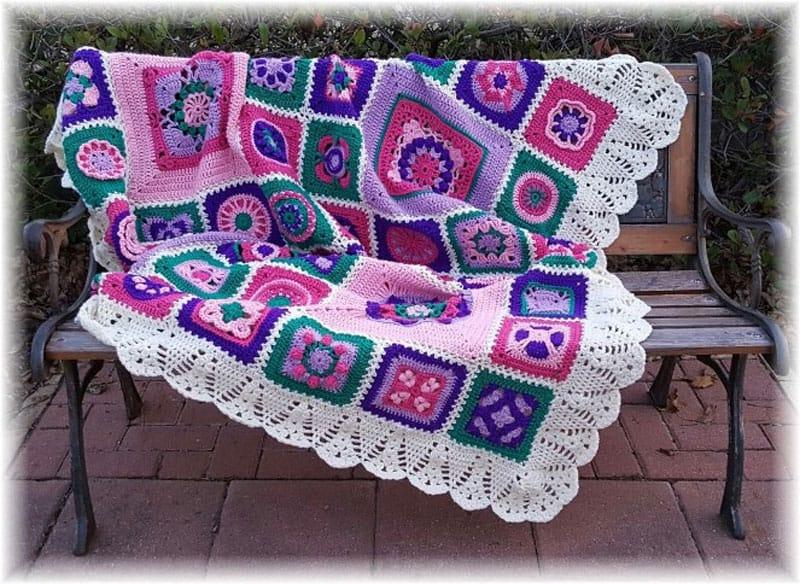 First Ladies Commemorative Afghan - Crochet - Melinda Miller