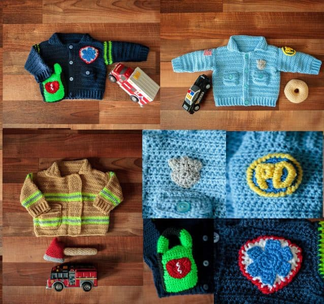 First Responder Sweaters by Lisa Ferrel