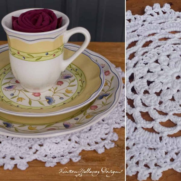 Garden Party Placemat - Crochet - Kirsten Holloway