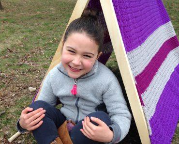Glamping Play Tent - Crochet - Susie Allen