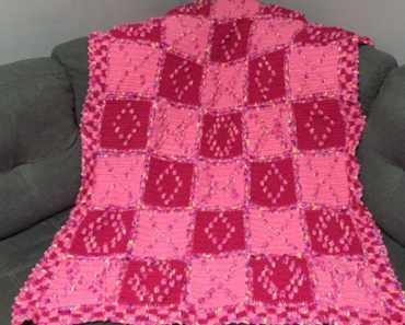 Hugs and Kisses Afghan - Susan Heyn