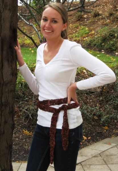 Incredible Ribbon Belt / Scarf by Andrea Lyn Van Benschoten