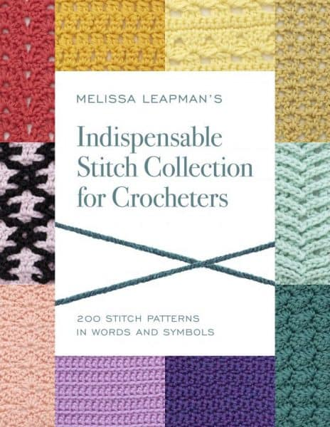Book: Indispensable Stitch Collection for Crocheters by Melissa Leapman